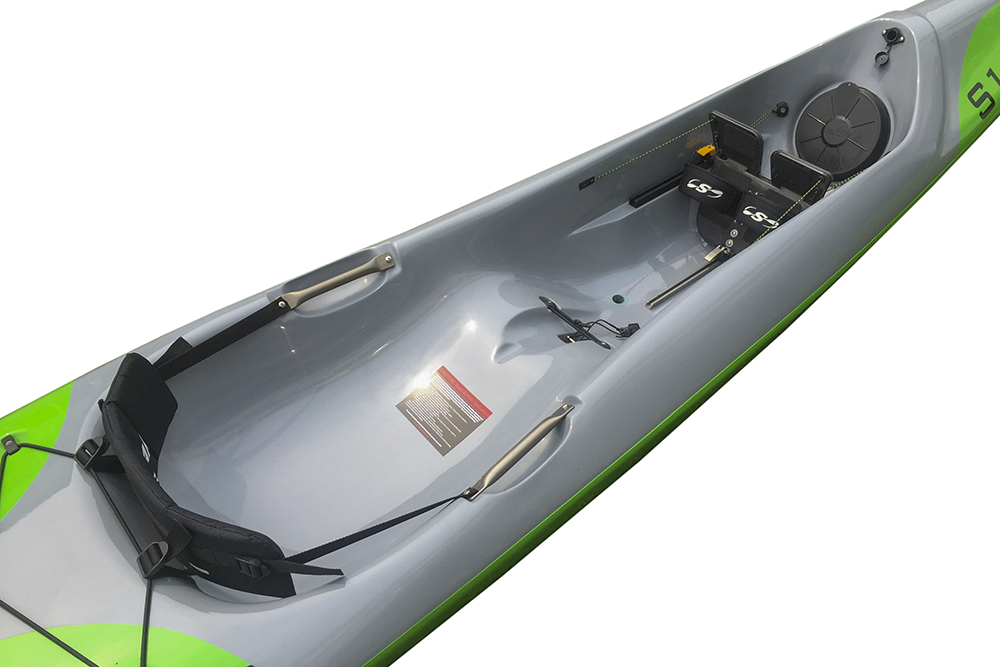 Optional Surf Ski Back Band